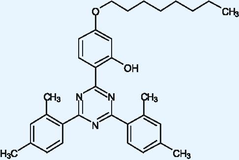 2,4-Bis(2,4-dimethylphenyl)-6-(2-hydroxy-4-octyloxyphenyl)-1,3,5-triazine (Appolo-1164)