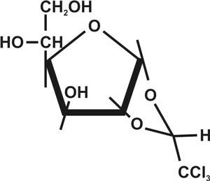 Alpha-Chloralose,1,2-0-(2,2,2-trichloroethylidene)-,(r)