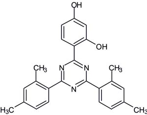 2,4-Bis(2,4-dimethylphenyl)-6-(2,4-dihydroxyphenyl)-1,3,5-triazine  (Appolo-107)