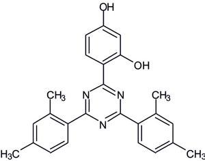 2,4-Bis(2,4-dimethylphenyl)-6-(2,4-dihydroxyphenyl) -1,3,5-triazine (Appolo-107)