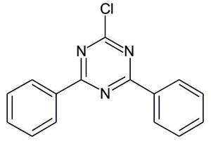 2-Chloro-4,6-Bis(phenyl)-1,3,5-triazine (Appolo-115)
