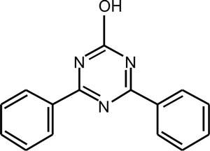 2,4-Diphenyl-6-hydroxy-1, 3, 5- triazine (Appolo-114)
