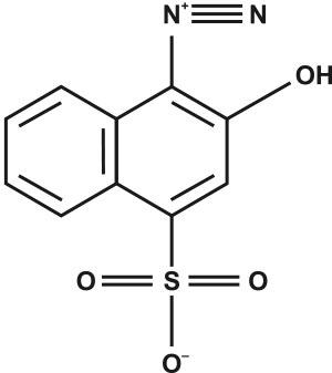 1-Diazo-2-naphthol-4-sulfonic acid