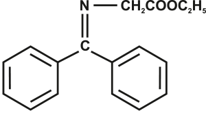 Ethyl n-diphenylmethylene glycinate