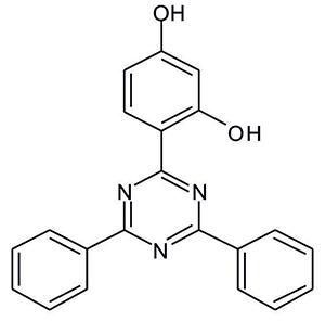 2-(2,4-Dihydroxyphenyl)-4,6-diphenyl-1,3,5-triazine (Appolo-116)