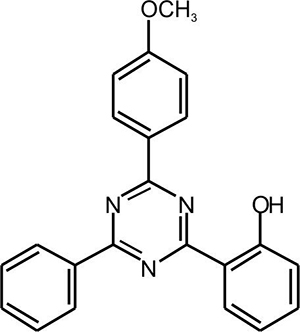 2-(4-(4-Methoxyphenyl)-6-phenyl-1,3,5-triazine-2-yl) phenol (Appolo-325)
