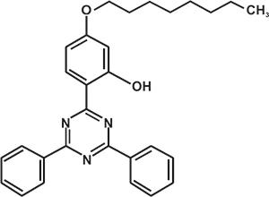 2,4-Bisphenyl-6-(2-hydroxy-4-n-octyloxyphenyl) -1,3,5-triazine (Appolo-1578) [Under Development]