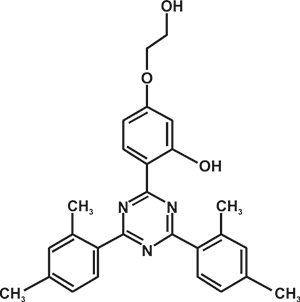 2,4-Bis-(2,4-dimethyl phenyl)-6-(2-hydroxy-4 -ethoxyphenyl)-1,3,5-triazine (Appolo-1166) [Under Development]