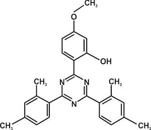 2,4-Bis-(2,4-dimethyl phenyl)-6-(2-hydroxy-4 -methoxyphenyl)-1,3,5-triazine (Appolo-1167) [Under Development]