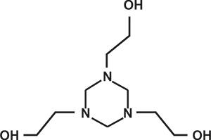 Hexahydro-1,3,5-tris(hydroxyethyl)s-triazine (Appolo-207) [Under Development]