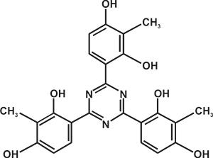2,4,6-Tris(2,4-dihydroxy phenyl)-1,3,5-triazine (Appolo-461) [Under Development]