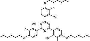 2,4,6-Tris (2-hydroxy-4-hexyloxy-3-methylphenyl) -1,3,5-triazine (Appolo-462) [Under Development]