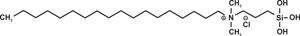 3-(Trihydroxy silyl)propyldimethyloctadecyl ammonium chloride (Venus-5700 (Conc))