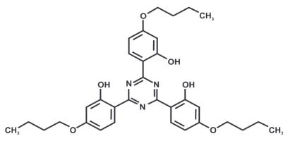 2,4,6-Tris(2-hydroxy-4-butoxyphenyl)-1,3,5-triazine (Appolo-480)