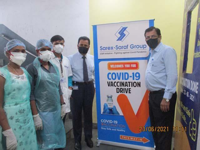 Vaccination Drive at Sarex
