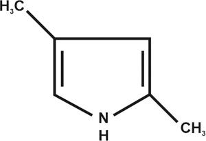 2,4-Dimethylpyrrole (Stellar-2004)