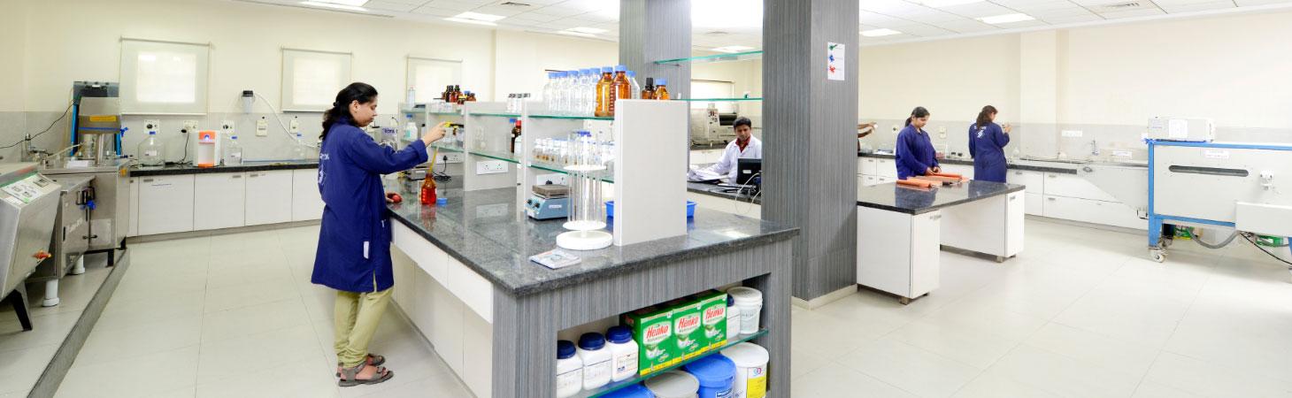 Textile Chemicals Manufacturing Lab